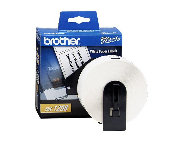 brother ql 570 square paper labels oem 1 000 labels per roll. Black Bedroom Furniture Sets. Home Design Ideas