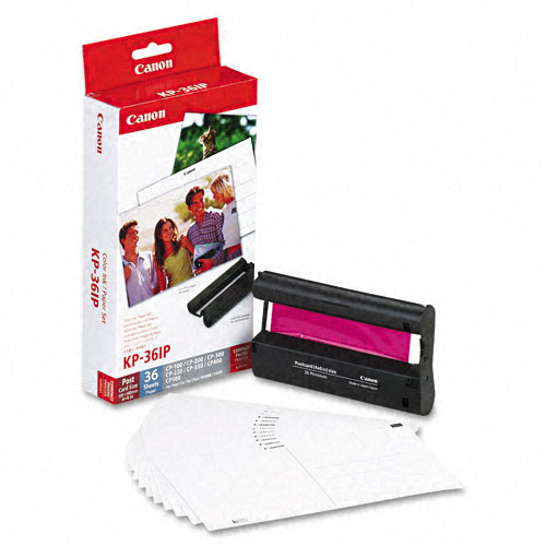 canon selphy cp520 color inkpaper set oem 36 sheets - Canon Selphy Color Ink Paper Set