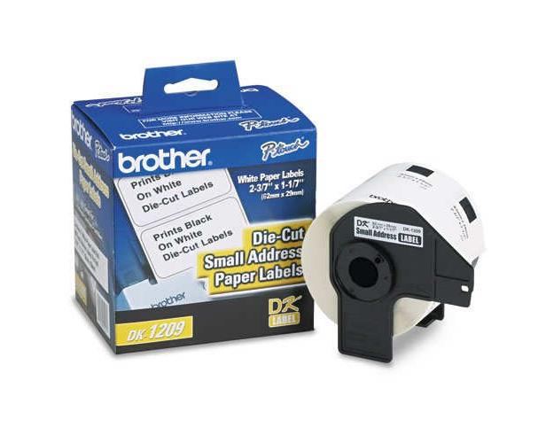 brother ql 570 large address labels 400 labels quikship toner. Black Bedroom Furniture Sets. Home Design Ideas