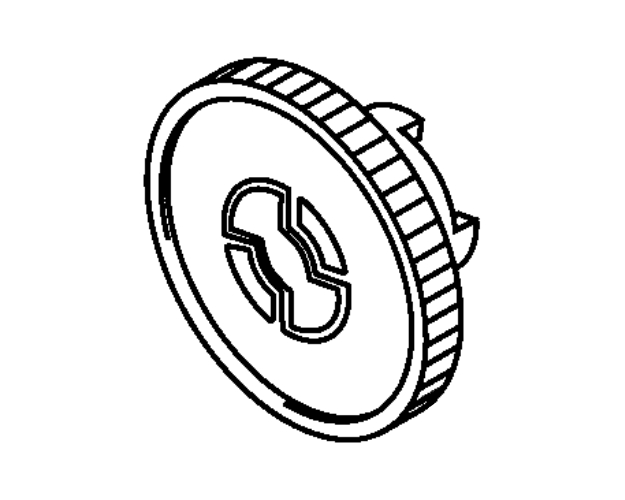 Brother intelliFAX 8360P Separation Roller Gear (OEM)