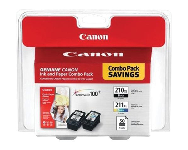 Canon PIXMA MP280 Black Color Ink Cartridges Combo Pack OEM