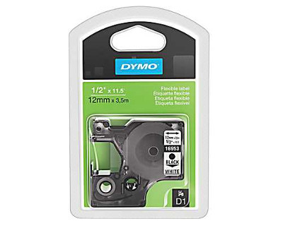 Dymo labelmanager 160 label tape oem flexible 1 2 for Dymo labelmanager 160 tape