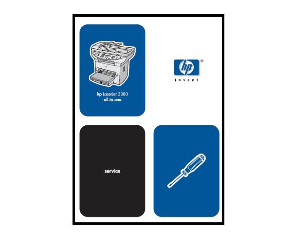hp laserjet 3500 service manual