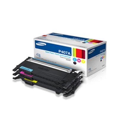 samsung clp 325w toner cartridge 3 color set oem 1 000 pages ea. Black Bedroom Furniture Sets. Home Design Ideas