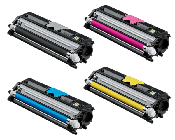 Konica Minolta MagiColor 1600w Toner Cartridge Set