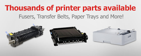 Thousands of Printer Parts Available