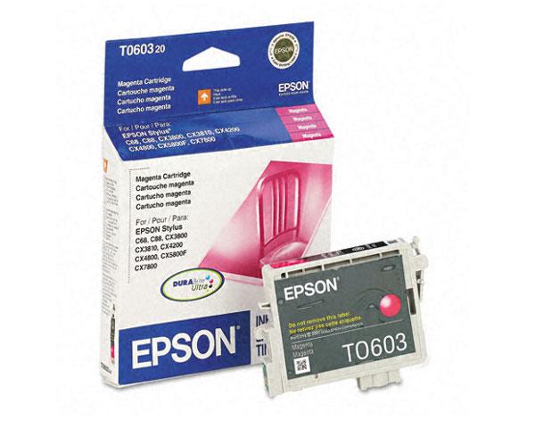 Epson Stylus C88 Black Ink Cartridge 400 Pages