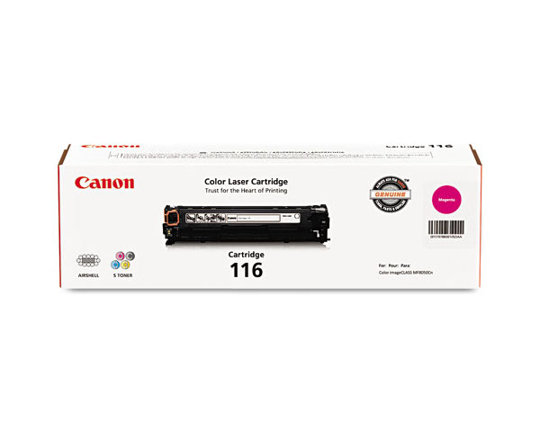 BK//C//M//Y 4 Pack Cartridge 116 Remanufactured Toner Replacement for Canon Color MF8280Cw MF8230Cn MF620C MF621Cn MF624Cw MF628Cw MF623Cn MF626Cn LBP7110Cw LBP5050 MF8280Cw MF8230Cn Printer