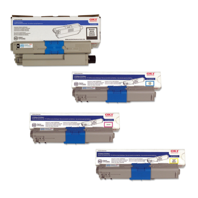 44469701 44469702 44469703 44469801 oem - Comparison Cost on the 44469701 Okidata C531DN Yellow Toner Cartridge