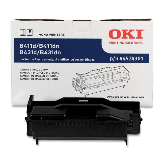 44574301 oem pic1 - Savings on the 44574301 Okidata MB461 MFP Black Drum Unit
