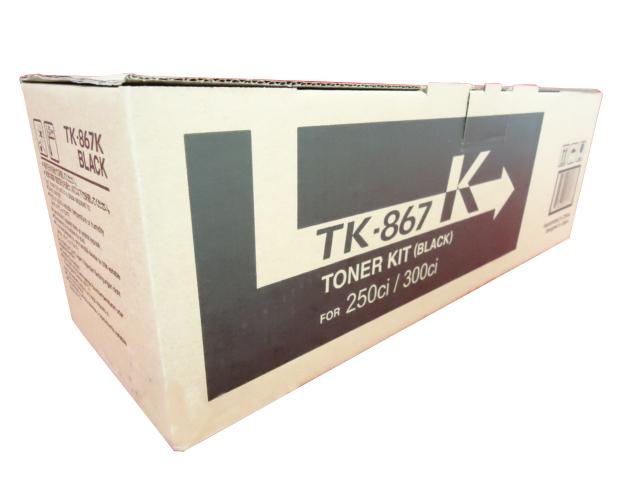 Kyocera TASKalfa 250ci Toner Cartridge Set Yellow Black OEM Magenta Cyan