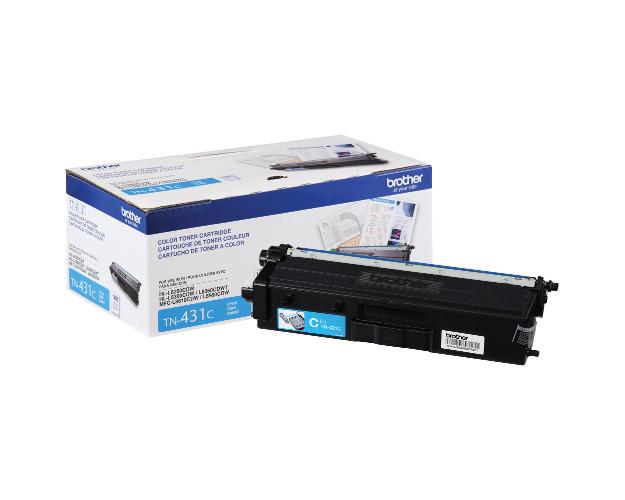 Brother MFC-L8900CDW Cyan Toner Cartridge (OEM) 1,800 Pages -  Cyan-Toner-Cartridge-Brother-MFC-L8900CDW