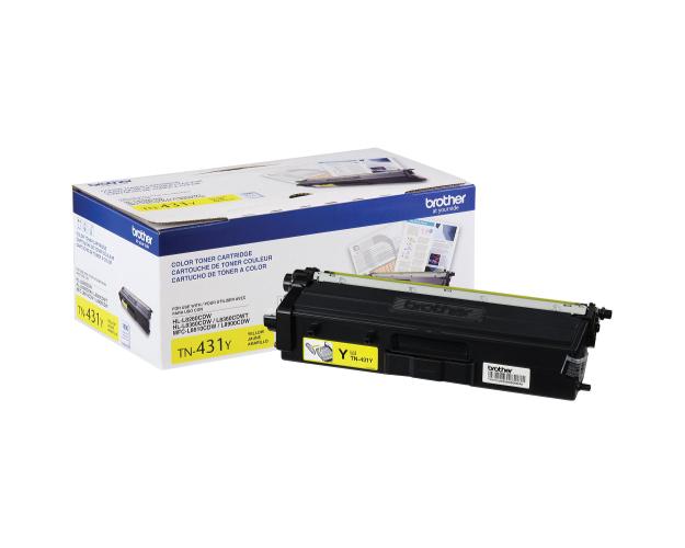 Brother MFC-L8900CDW Yellow Toner Cartridge (OEM) 1,800 Pages -  Yellow-Toner-Cartridge-Brother-MFC-L8900CDW
