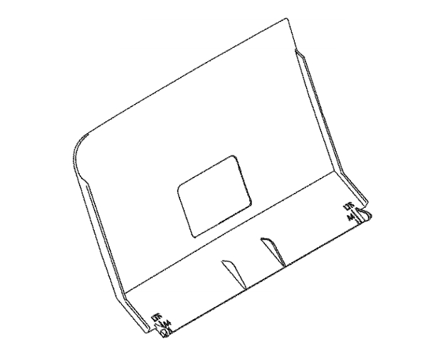 Brother intelliFAX 1960C Ink Absorber Tube Assembly (OEM)