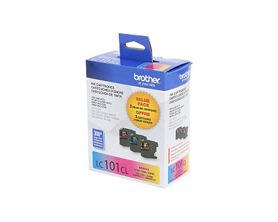 Brother LC101Y Yellow Ink Cartridge (OEM) 300 Pages