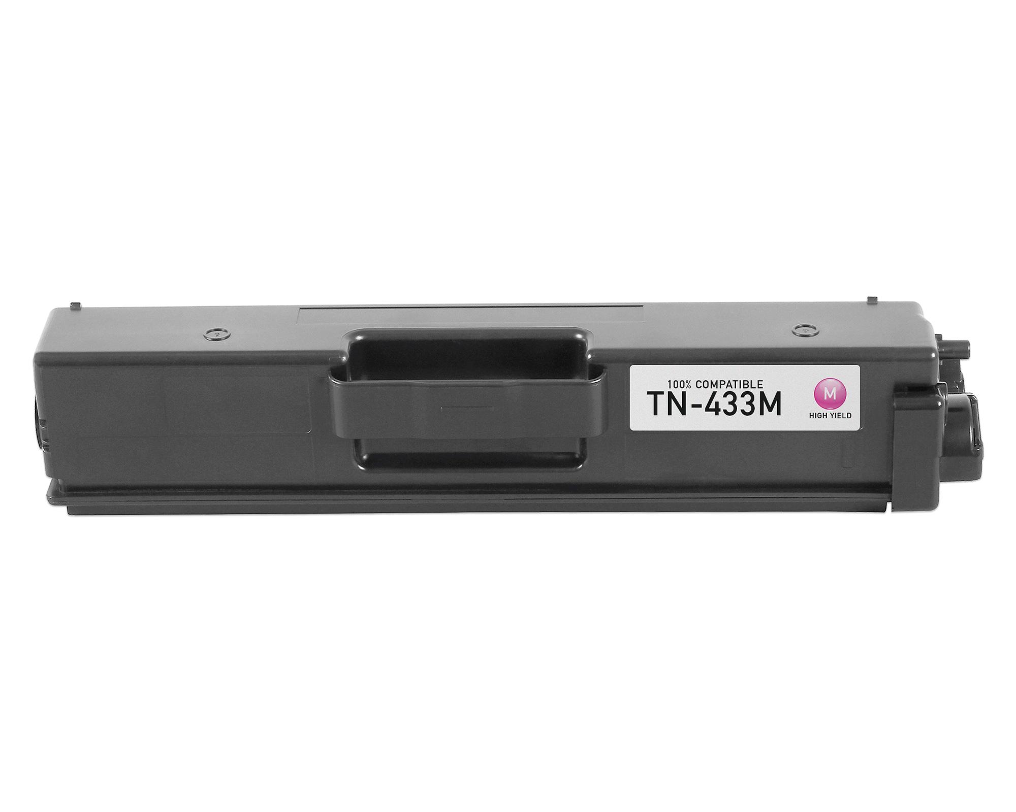 Brother MFC-L8900CDW Magenta Toner Cartridge - 4,000 Pages -  Generic Toner, Magenta-Toner-Cartridge-High-Yield-Brother-MFC-L89