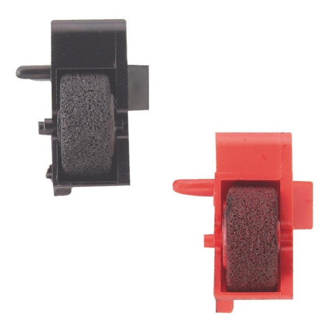 red/black Sharp Ink Roller For Sharp Printing Calculator Office Equipment