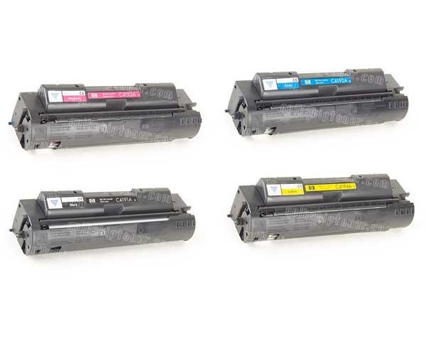 HP Color LaserJet 4500 Toner -Black,Cyan,Magenta,Yellow