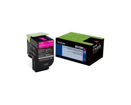 lexmark 80C1SM0 oem - Discounts for the 80C1SM0 Lexmark CX510dhe Magenta Toner Cartridge
