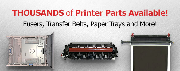 Thousands of Printer Parts Available!