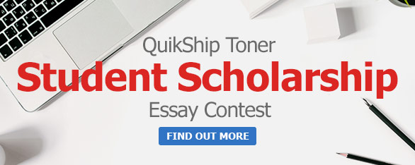 Quikship Toner Scholarship Program