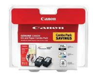 Canon PIXMA MX330 Black Color Ink Cartridges Combo Pack OEM
