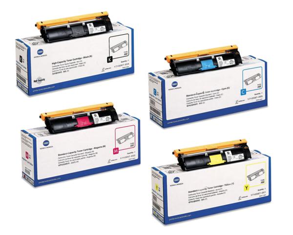 Konica Minolta BizHub C10/C10X Toner Cartridge Set - Black